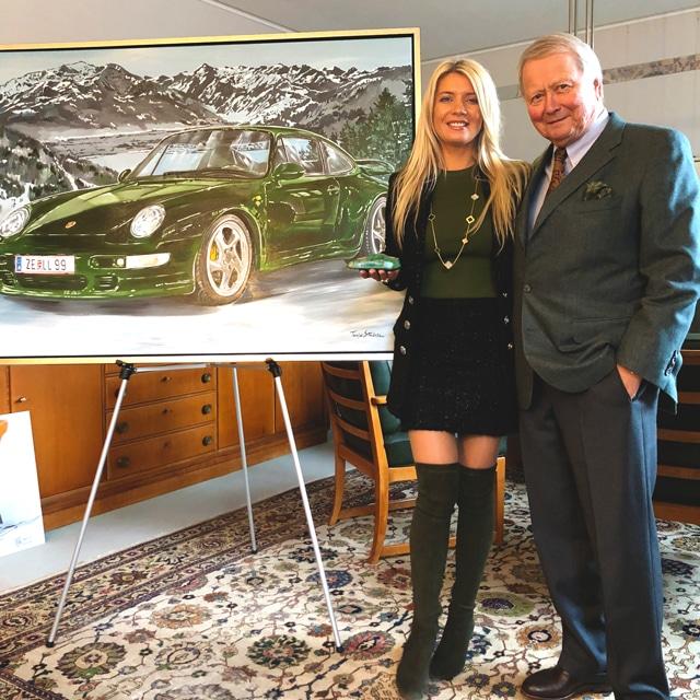 Tanja Stadnic meets Dr Wolfgang Porsche