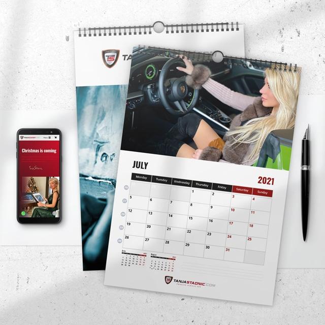 Tanja Stadnic Calendar 2021-2
